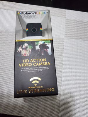 NEW Polaroid Cube+ Plus 1440p Mini Lifestyle Action Camera with Wi-Fi black for Sale in Torrance, CA
