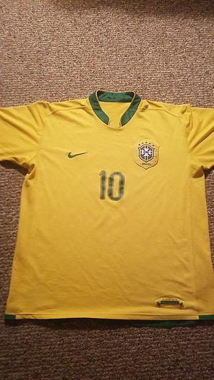 Brazil Home Jersey Ronaldinho (XL) for Sale in Germantown, MD