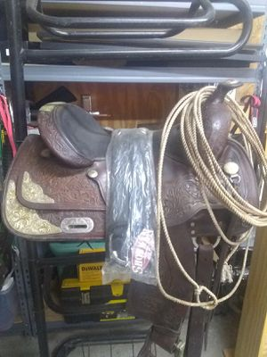 "15"" Circle Y Barrel Saddle for Sale in Lyons, GA"