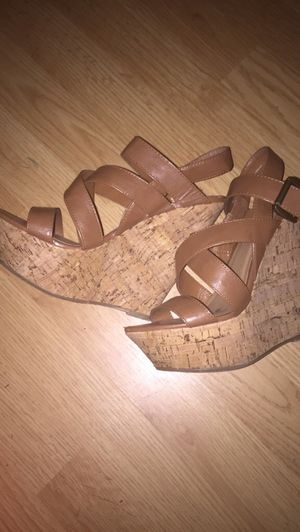 Pair of wedges size 7 for Sale in Farmville, VA