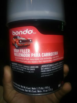 Bondo body filler for Sale in Sanger, CA
