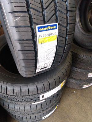 Set of 4 tires p275/55/R20 for Sale in Norwalk, CA