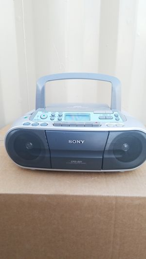 Sony cd player...radio...cassete for Sale in Upland, CA