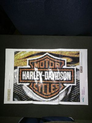 Harley-Davidson Motorcycles Small Poster for Sale in Feasterville-Trevose, PA