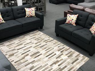 2PC Black Sofa & Love Seat for Sale in Fresno,  CA