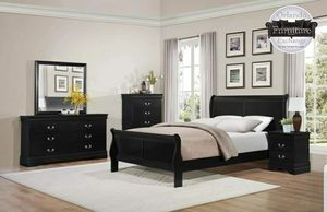 $479 WE DELIVER! BRAND NEW QUEEN BED FRAME DRESSER AND MIRROR for Sale in Oviedo, FL