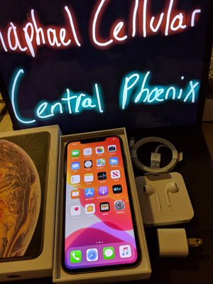 iPhone XS max 512 GB UNLOCKED any sim any carrier for Sale in Phoenix, AZ
