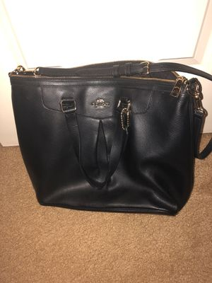 Coach leather bag for Sale in Cheshire, CT