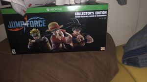 Jump force collector'S edition all Xbox one for Sale in Miami, FL