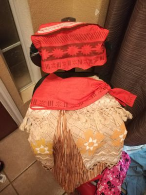 Girls Size 7/8 Moana Costume from Disney Store for Sale in Frisco, TX
