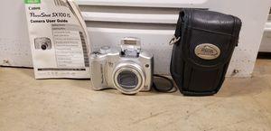 Canon PowerShot SX100 IS Silver w/ Case & Manual for Sale in Richmond, VA