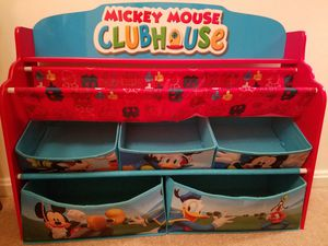 Kids Mickey Mouse toy and book shelf for Sale in Alexandria, VA