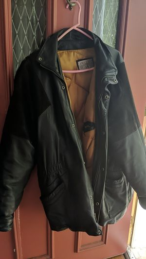 Pella Studio Large Leather Jacket for Sale in Swarthmore, PA