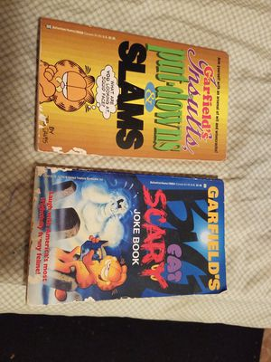 """2 Garfield Books """"Slams"""" & """"Scary"""" for Sale in Houston, TX"""