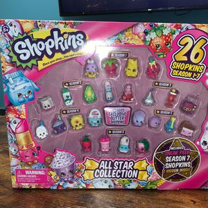 Shopkins All Star Collection Seasons 1-7 for Sale in Uniondale, NY
