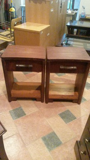 Only 1 left solid cherry wood end table or night stand for Sale in Silver Spring, MD