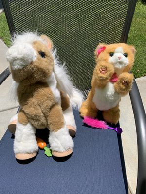 FurReal Friends Pony and Cat toy for Sale in Hemet, CA