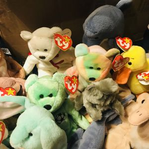 Some Really Rare Beanie Babies for Sale in Milford Center, OH