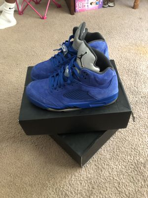 Size 12's Suede Jordan 5's for Sale in Kissimmee, FL