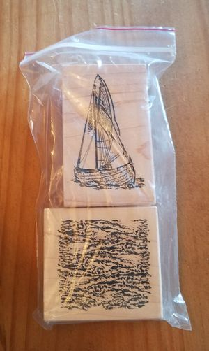 Sailing rubber stamp set for Sale in Chicago, IL