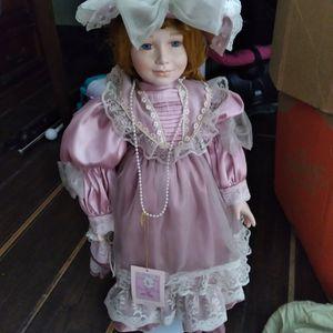 Antique Collectors Porceline Doll for Sale in Dover, FL