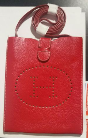 New Red Leather H Evelyne Crossbody Bag Purse for Sale in Littleton, CO