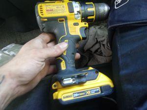 Brushless 20v xr dewalt drill screwgun. W battery for Sale in Elkhart, IN
