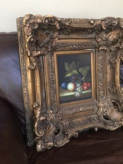 Pending -Vintage Frame And Painting for Sale in Buford,  GA