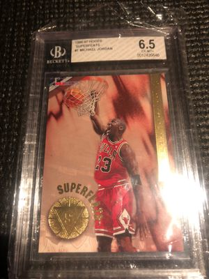 Michael Jordan Superfeats Collectable for Sale in Manvel, TX