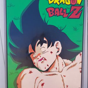Dragon ball Z Death of a Legend custom painting for Sale in Oklahoma City, OK