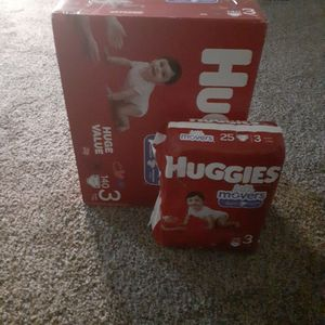 Huggies Little Mover Stage 3 Diapers (Con -140 )(con-25) for Sale in King of Prussia, PA