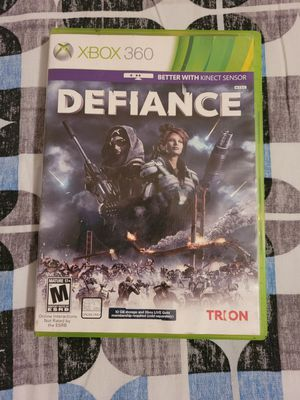 Xbox 360 game defiance for Sale in Milwaukee, WI