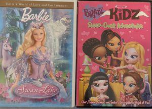 Barbie of Swan Lake and Bratz Kids Sleep Over Adventure for Sale in Tampa, FL
