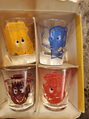 collectable roving eye shot glasses for Sale in Delair, NJ