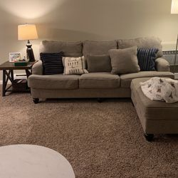 Nice Grey Sofa 3 Seater With Chaise for Sale in Arlington Heights,  IL