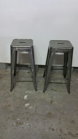 Tabouret 30-inch Metal Barstools (set of 2) for Sale in Boston, MA