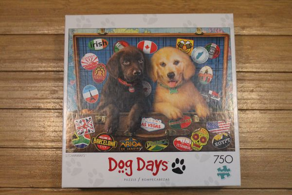 Buffalo Games Dog Days Stowaways 750 Piece Puzzle