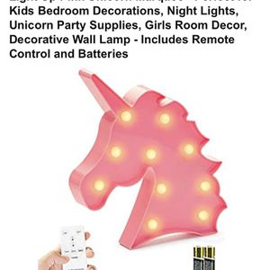 Unicorn Lamp Brand New $10 for Sale in Los Angeles, CA