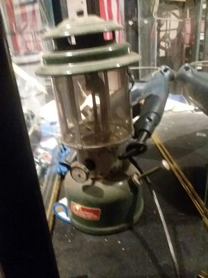 Coleman kerosene lantern needs fire bags for Sale in Cleveland, OH