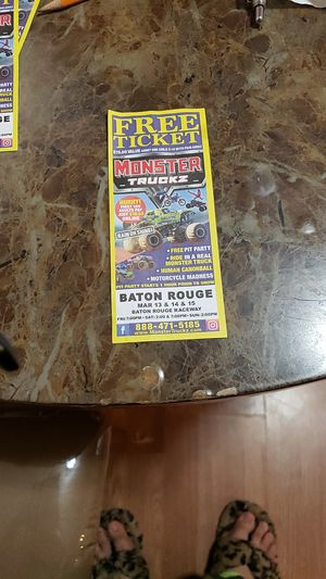 Monster truck tickets for Sale in Baton Rouge, LA