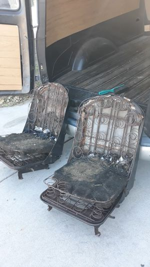 Seats off 1949 chevy panel truck for Sale in Fontana, CA