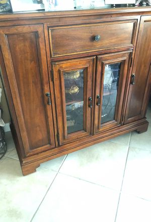 Console table with doors and drawers for Sale in West Palm Beach, FL
