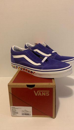 Vans Old Skool Shoes Juniors Size 6.5 for Sale in Long Beach, CA