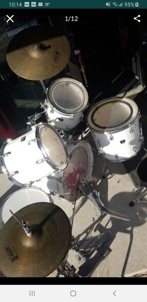 "Complete tama superstar drum set with cymbals,stands,18"" floor tom for Sale in Yorkville, IL"