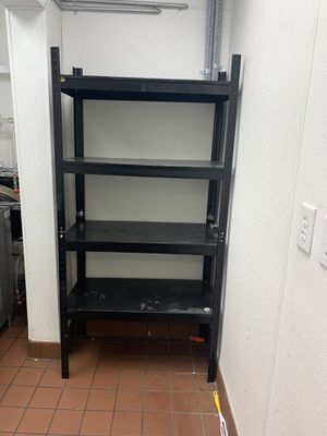 Heavy Duty Metal Slotted Angle Rack for Sale in Las Vegas, NV