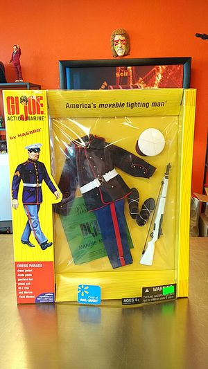 Dress Parade Outfit For GI Joe Action Marine Action Figure for Sale in Vancouver, WA