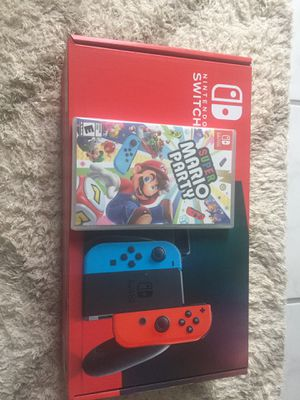 Nintendo switch with game BRAND NEW for Sale in Fairfax, VA