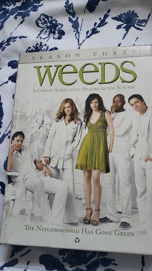 Weeds Season 3 DVD Set for Sale in Whittier, CA