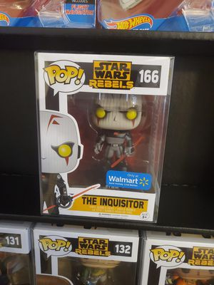 Funko Pop Star Wars Rebels The Inquisitor 166 Walmart Exclusive w/ pop protector for Sale in Rancho Cucamonga, CA