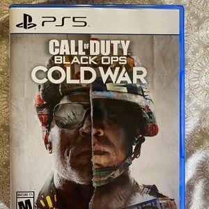 Cold War PlayStation 5 for Sale in Oceanside, CA